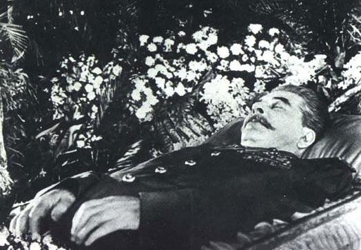 momie tombe de Staline