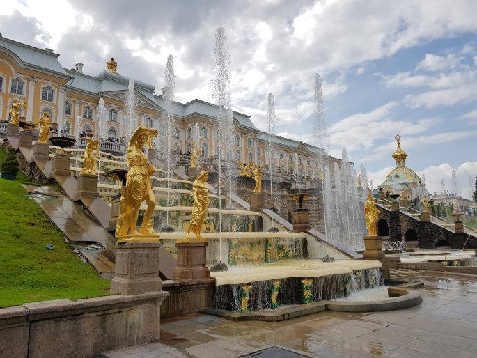 palais peterhof grande cascade