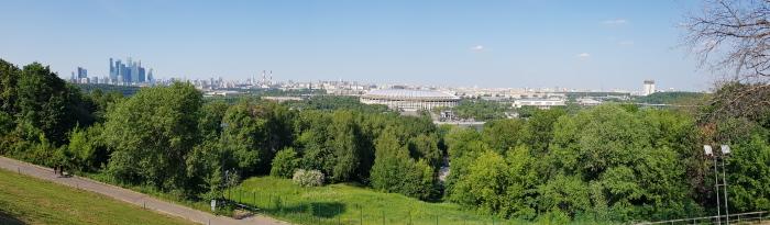 Panorama depuis la colline des moineaux