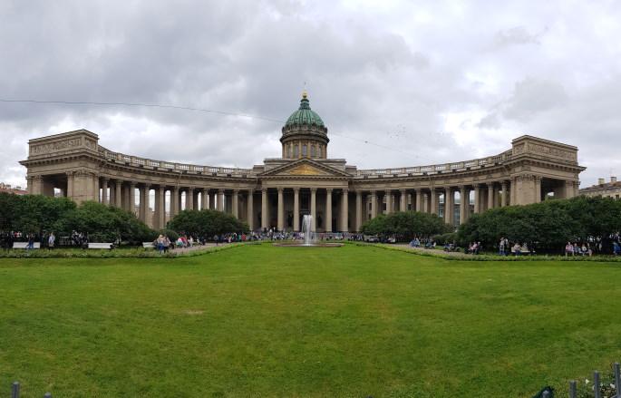 cathédrale notre-dame-de-kazan saint pétersbourg