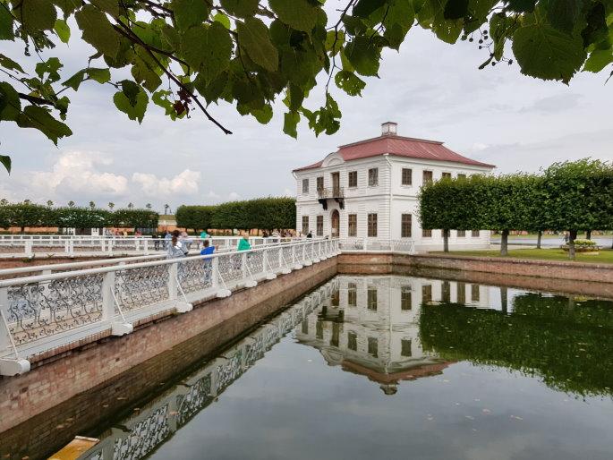 Pavillon Marly palais de peterhof