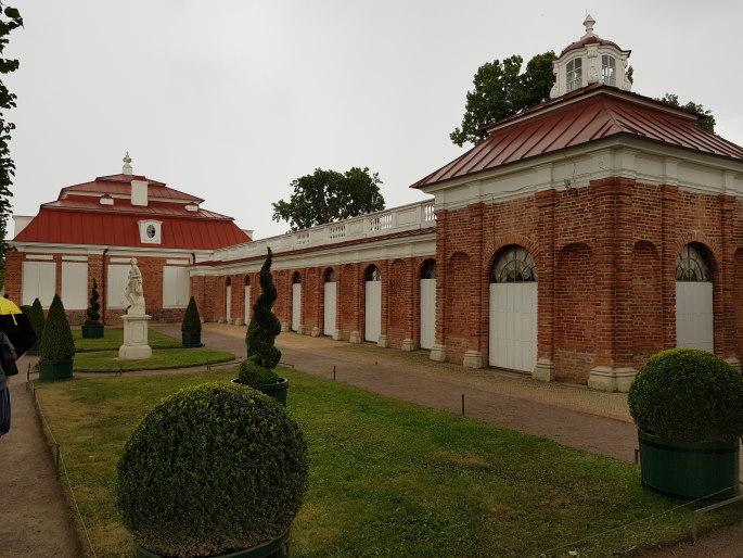 Pavillon montplaisir palais de peterhof