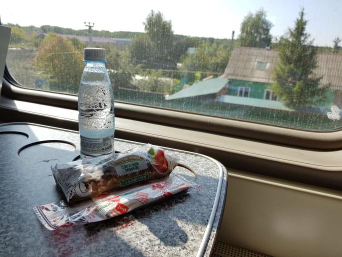 Petit déjeuner train kazan