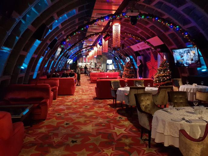 Restaurant Bunker 42 Moscou