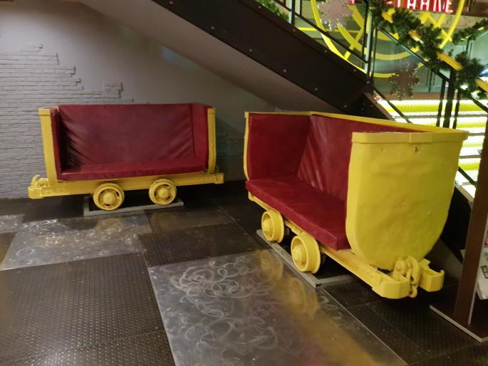 Wagon Bunker Taganka Moscou