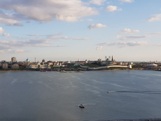 Vue Kremlin Kazan