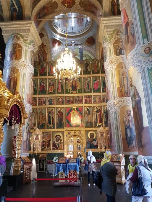 Iconostase Cathédrale annociation Kazan