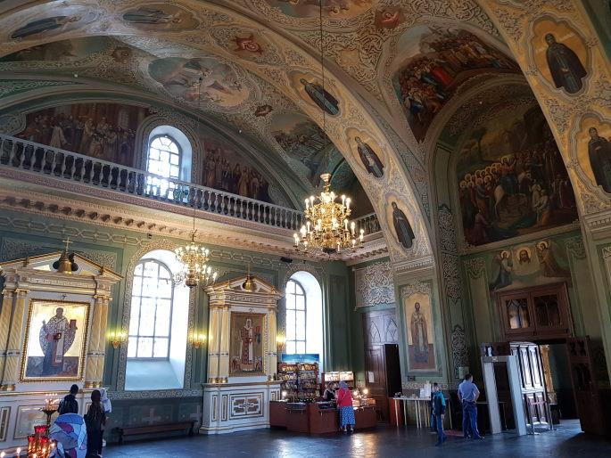 Intérieur Cathédrale Annonciation Kazan