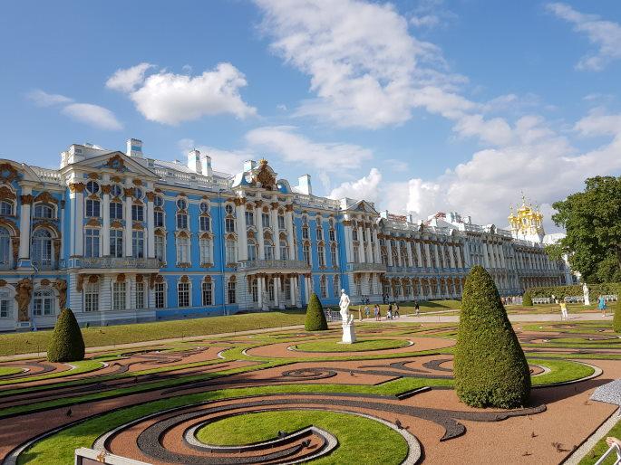 Palais de Catherine pouchkine