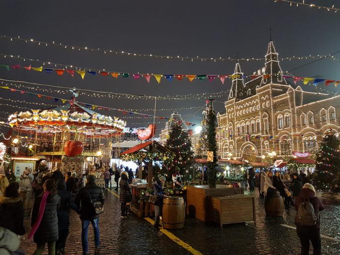 Marché Noël Place Rouge