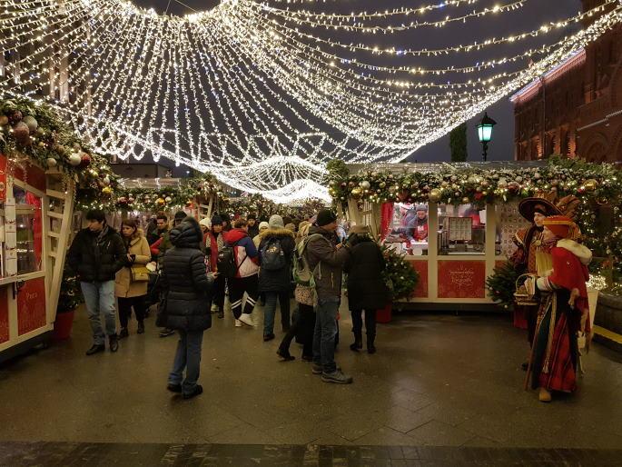 Marché de Noël Moscou